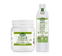 Масло кокосовое KLF Virgin  первого холодного отжима нерафинированное KLF Nirmal Naturals pure Coco