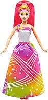 Интерактивная Кукла BARBIE Радужное сияние Mattel