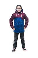 """Куртка для мальчика подростка, """"Парка-8"""""""