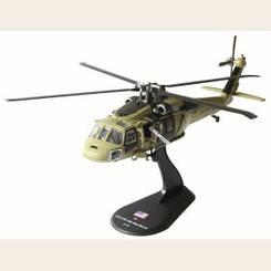 Модель Вертолеты Мира (Amercom) №03. UH-60 Blackhawk в масштабе 1:72