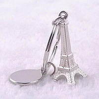 Брелок Эйфелевая башня серебро, фото 1
