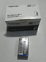 Батарейка Toshiba 6F22 9V Super Power Alkaline