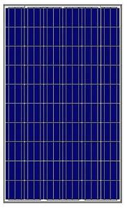 Поликристалическая солнечная батарея Amerisolar 265 ВТ / 24В, AS-6P30-265W