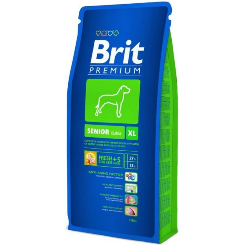 Сухой корм Brit Premium Dog Senior XL для стареющих собак гигантских пород, 3 кг