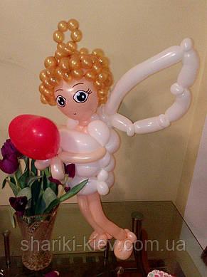 Ангел из шаров, фото 2