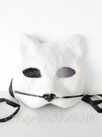 "Маска ""Белый кот"", фото 2"