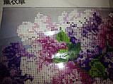 Алмазная вышивка 30*30 серень частичное заполнение, круглые стразы, фото 3