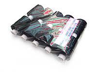 Нитки №300пп черные,(толщина нитки 1мм)  10шт в упаковке.
