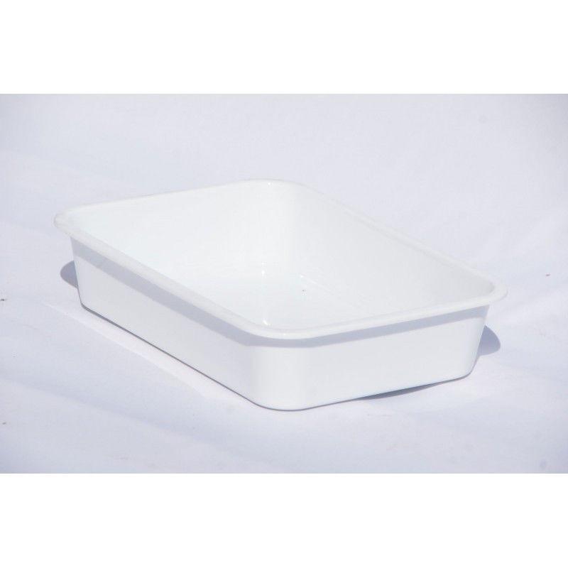 Лоток белый (пищевой) 9,4 л