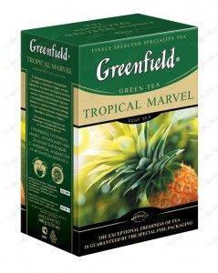 Greenfield Tropical Marvel зеленый чай 100 грамм