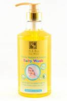Шампунь и гель для душа для младенцев 2 в 1 с ромашкой и алоэ вера Health & Beauty, 780 мл, арт: 043985