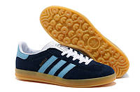 Кроссовки Adidas Gazelle Indoor (Navy Blue)
