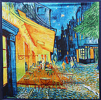 Шарф платок Кофейня Ван Гог, фото 1