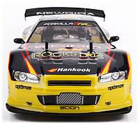 Машина на радиоуправлении для Дрифта Nissan Skyline GT-R ROCKSTAR 1:10 4WD01 скорость 25км. в час Радиус 50м.