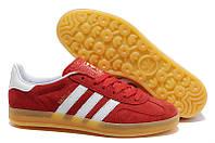 Кроссовки Adidas Gazelle Indoor (Red), фото 1