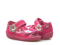 Детские босоножки для девочки розовые размер 19-27 Renbut  13-140 Ортопедическая вкладка.