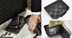 Мужские кошельки портмоне, бумажники, ключницы из кожи