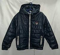 Куртка детская демисезонная для девочки 3-7 лет, темно синяя