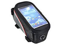 Велосипедная сумка с чехлом на смартфон, телефон, планшет. Бесплатная доставка Укрпочтой