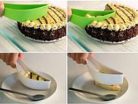 Нож лопатка для легкой нарезки торта Cake Server