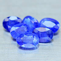 Натуральный Синий Сапфир 7х5мм