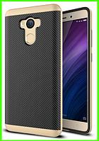 Чехол, бампер iPaky для Xiaomi redmi 4/4 pro (prime), (gold)