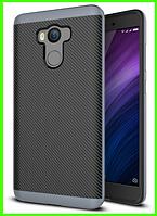 Чехол, бампер iPaky для Xiaomi redmi 4/4 pro (prime), (grey)