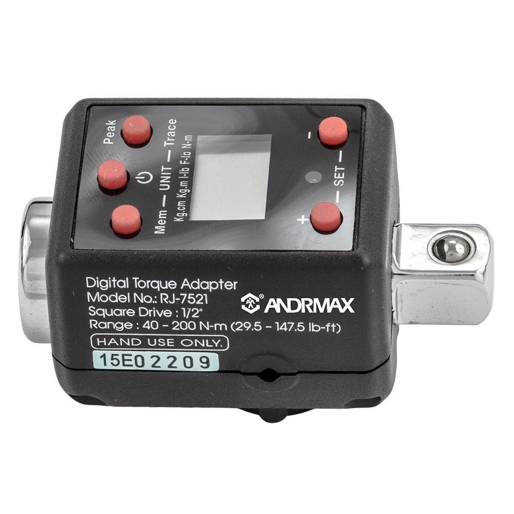 "Динамометричний адаптер 1/2"" 40-200 Н·м, цифровий ANDRMAX"