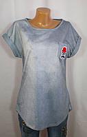 Классическая футболка Moda Zaza со стильным узором