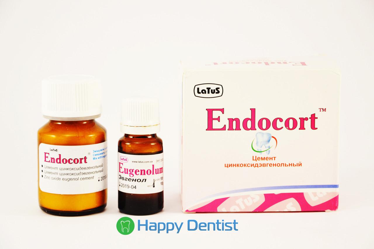 Ендокорт (Эндокорт) Латус цинкоксидэвгенольный материал