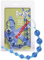Анальные бусы цепочка в 10 шариков Thai toy beads purple Toy Joy
