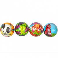 Мяч поролоновый с картинками 76мм