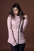 Женская демисезонная куртка. Код модели К-85-36-17. Цвет пудра.