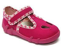 Детские сандали для девочки розовый цвет размер 19-25 Renbut  13-143 Ортопедическая вкладка.