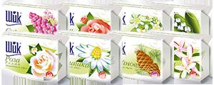"""Туалетное мыло «ШИК» """"Любимые цветы"""" (70г.), фото 1"""