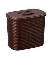 Контейнер для стирального порошка Senyayla 4172 коричневый