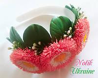 Ободок цветок маргаритки