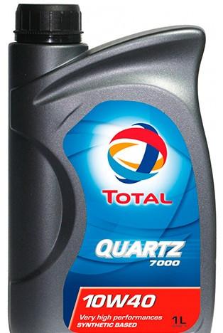 Напівсинтетичне моторне масло TOTAL Quartz 7000 Energy (Тотал Кварц) 10w-40 1 л