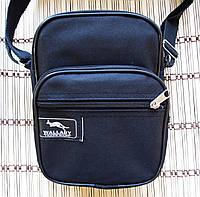 Мужская сумка через плечо Барсетка деловая 16х21х8см