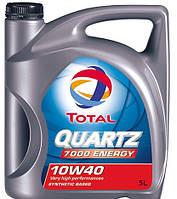 Полусинтетическое моторное масло TOTAL Quartz 7000 Energy (Тотал Кварц) 10w-40 5 л