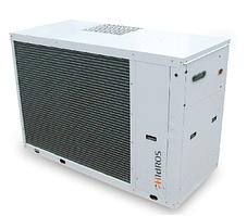 CDA-050- водяной чиллер с воздушным охлаждением и центробежными вентиляторами