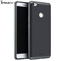 TPU Силикон iPaky TPU+PC для Xiaomi Mi Max Black / Gray (черный / серый)