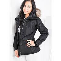 Женская теплая зимняя куртка Бесплатная Доставка