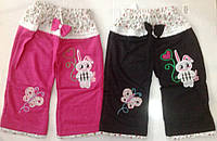 "Штанишки на девочку ""Зайка-Бабочка"" на 2-4 года, в рост. 3 шт."