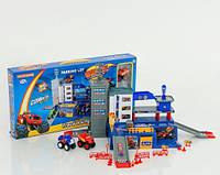 Детский игрушечный гараж, парковка с машынками BLAZE (Вспыш) ZY-655