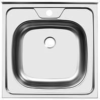 Мойка кухонная стальная Platinum 50 х 50 матовая