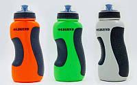 Бутылка для воды спортивная 500мл LEGEND (PE, силикон, цвета в ассортименте), фото 1