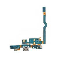 Шлейф (Flat cable) LG P760 Optimus L9/  P765/  P с гнездом на зарядку,  микрофоном,  кнопкой меню