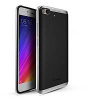 TPU Силикон iPaky TPU+PC для Xiaomi Mi 5s Black / Silver (черный / серебрянный)