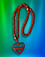 Ожерелье турманиевое (М-10) с кулоном